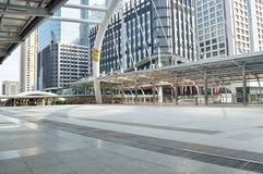 Bangkok skyskrapakontorsbyggnad Royaltyfri Bild