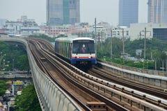 Bangkok Skytrain BTS. In Mo Chit Station Royalty Free Stock Photo