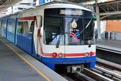 Bangkok Skytrain BTS. In National Stadium Station Royalty Free Stock Photo