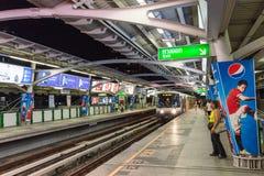 Bangkok skytrain Platform Stock Photos