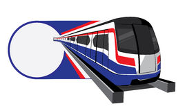 Bangkok skytrain vector icon Royalty Free Stock Photos