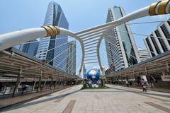 Bangkok Skywalk Stock Image