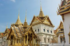 bangkok slottkunglig person Royaltyfria Bilder