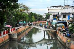 Bangkok slum Stock Image