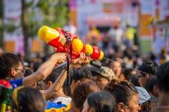 Bangkok Songkran Festival Siam Square 2016 Stock Images