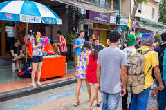 Bangkok Songkran Festival Royalty Free Stock Images