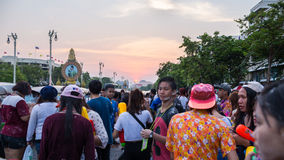 Bangkok Songkran Festival Stock Images
