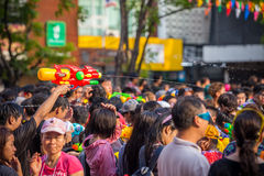 Bangkok Songkran Festival Royalty Free Stock Photos