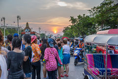 Bangkok Songkran festiwal Obrazy Stock
