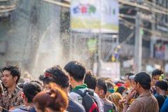 Bangkok Songkran festiwalu Siam kwadrat 2016 Obrazy Royalty Free