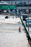 Bangkok sous-marin Images stock
