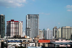 Bangkok stad av Thailand Arkivbilder