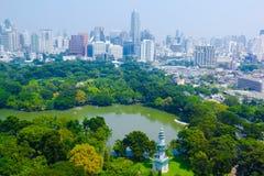 Bangkok stadssikt royaltyfria bilder