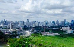 Bangkok stadssikt arkivfoton