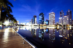 Bangkok-Stadt Lizenzfreie Stockfotos