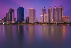 Bangkok-Stadt Stockfotografie