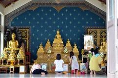 Bangkok-Stadt-Pfosten-Schrein, Thailand lizenzfreies stockbild