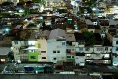 Bangkok-Stadt-Wohngebiet Lizenzfreie Stockfotos