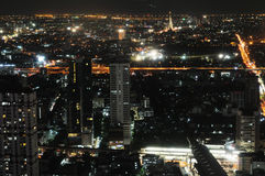 Bangkok-Stadtbild. stockfotografie