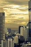 Bangkok-Stadtbild. stockfotos