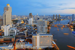 Bangkok-Stadtbild Stockfotos