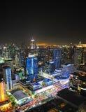 Bangkok-Stadtzentrum, thailändisch Stockfotografie