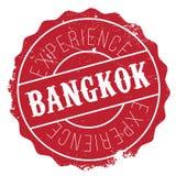 Bangkok stamp rubber grunge Royalty Free Stock Photos