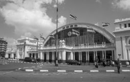 Bangkok station stock photo