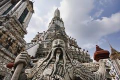 bangkok statua stara religijna Thailand Fotografia Stock