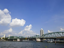 Bangkok steel bridge Royalty Free Stock Photos