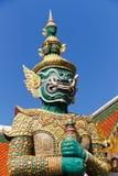 bangkok storslagen grön guardslott royaltyfri fotografi