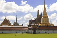 Bangkok storslagen slott i Thailand royaltyfri fotografi
