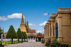 bangkok storslagen slott thailand Royaltyfri Bild