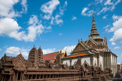 bangkok storslagen slott thailand Royaltyfri Foto