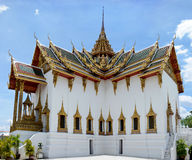 bangkok storslagen slott thailand Sikt av Phraen Thinang Dusi Royaltyfri Bild