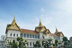 bangkok storslagen slottkunglig person Arkivbild