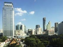 Bangkok storstadsområde Arkivfoto