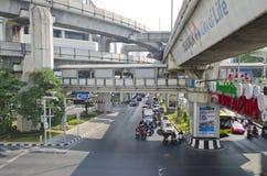 Bangkok-Straßenansicht stockfoto