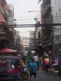 Bangkok street. Life on a street in bangkok Stock Photos