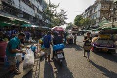 On Bangkok street market Stock Images