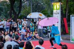 Bangkok Street Show Royalty Free Stock Photo