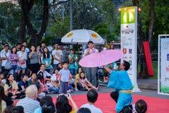 Bangkok Street Show Stock Images
