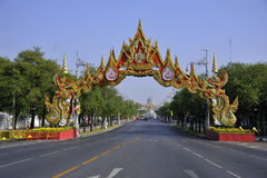 Bangkok street view Royalty Free Stock Photography
