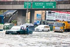 Bangkok subacquea immagini stock