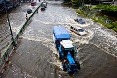 Bangkok subacquea Fotografia Stock Libera da Diritti