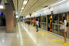 Bangkok subway Stock Photography
