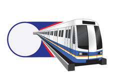 Bangkok subwaytrain icon Royalty Free Stock Images