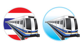 Bangkok subwaytrain icon Stock Photography