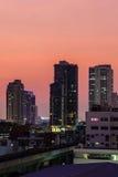Bangkok sunrise royalty free stock images