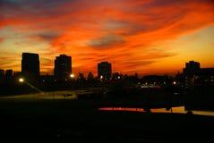 Bangkok sunset Stock Images